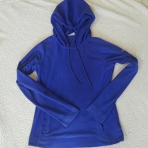 Columbia blue fleece hoodie